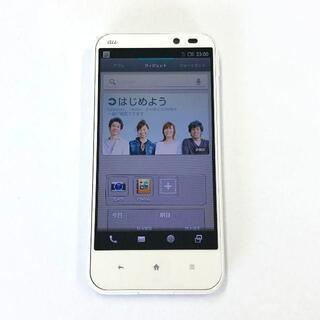 シャープ(SHARP)のau AQUOS SHL22 ホワイト(スマートフォン本体)