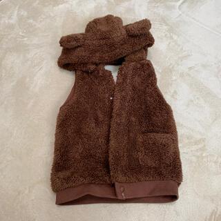 ベルメゾン(ベルメゾン)の子供用ベスト クマ耳フード付き(ジャケット/上着)