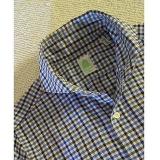 フィナモレ(FINAMORE)の売約済み Finamore フィナモレ コットンシャツ 15/38 M程度(シャツ)