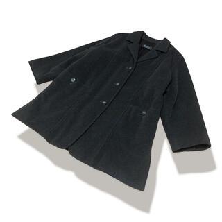 マックスマーラ(Max Mara)の美品 MAX MARA 上質 ウール ドロップショルダー コート(チェスターコート)