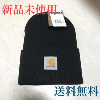 カーハート(carhartt)の  【新品未使用】カーハート ニット帽 黒 (ニット帽/ビーニー)