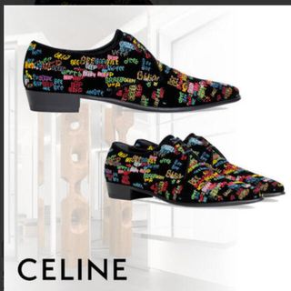 セリーヌ(celine)のセリーヌ ダービージャクノ ドレス  シューズ美品 サンローラン(ドレス/ビジネス)