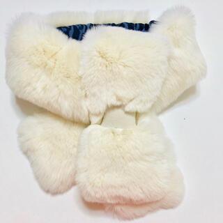 フルラ(Furla)の新品 フルラ ファー マフラー レッキス ホワイト 白 ファー FURLA(マフラー/ショール)
