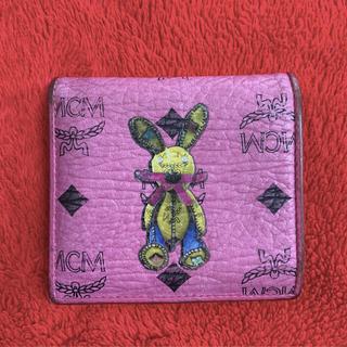 エムシーエム(MCM)のMCM うさぎ ピンク 財布(財布)