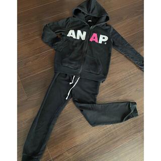 アナップ(ANAP)のANAP ロゴパーカー スウェット上下セット 部屋着(トレーナー/スウェット)
