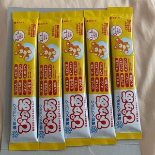 ユキジルシメグミルク(雪印メグミルク)のぴゅあ 粉ミルク 5袋(その他)