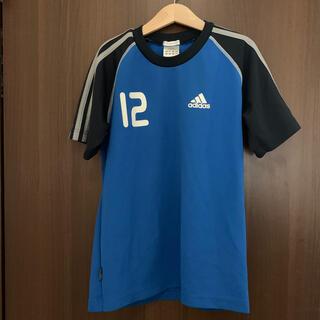 アディダス(adidas)のアディダス★サッカーウェア140   clima365  ブルー(Tシャツ/カットソー)