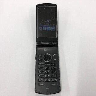 エヌイーシー(NEC)のdocomo N-01F ブラック (携帯電話本体)