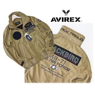 AVIREX - 新品【アヴィレックス】ブラックバード スタンドジップ ジャケット M