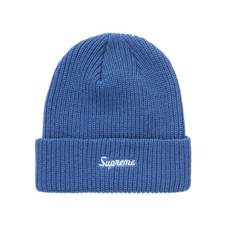 シュプリーム(Supreme)のSupreme Loose Gauge Beanie ブルー(ニット帽/ビーニー)