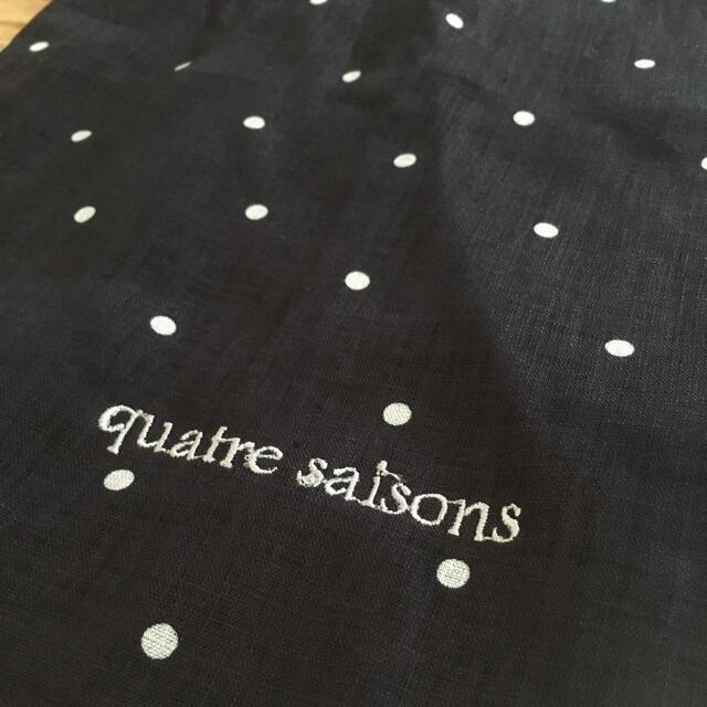 quatre saisons(キャトルセゾン)のquatre saisons 巾着バッグ レディースのファッション小物(ポーチ)の商品写真