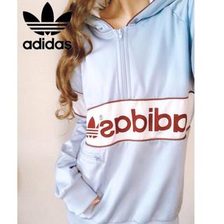 アディダス(adidas)の<レア品>アディダスパーカー男女兼用(パーカー)