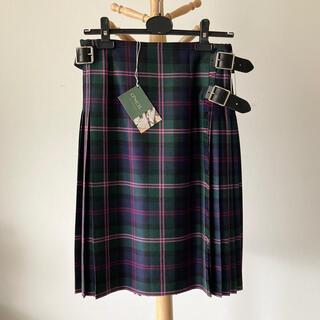 オニール(O'NEILL)の【新品】O'NEIL of DUBLIN アコーディオンプリーツスカート 12(ひざ丈スカート)