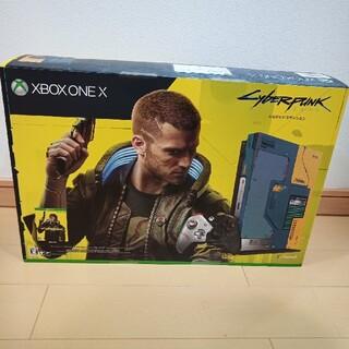 マイクロソフト(Microsoft)のMicrosoft Xbox One X サイバーパンク2077(家庭用ゲーム機本体)