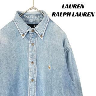 Ralph Lauren - 【美品】Lauren Ralph Lauren デニムジャケット シャツ