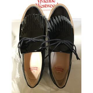 ヴィヴィアンウエストウッド(Vivienne Westwood)のヴィヴィアンウエストウッド ロッキンホース ゴルフ エナメル(ローファー/革靴)