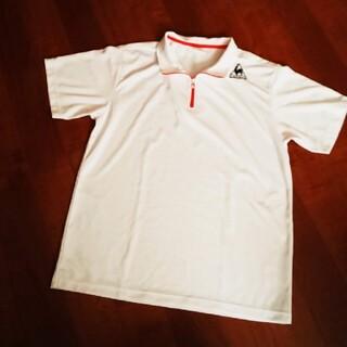 ルコックスポルティフ(le coq sportif)のle coq sportif半袖シャツ メンズ半袖ハーフジップシャツ(Tシャツ/カットソー(半袖/袖なし))