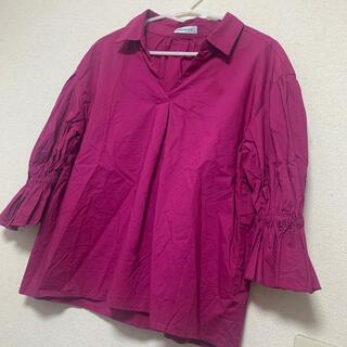 ウィゴー(WEGO)のパフスリーブシャツ(シャツ/ブラウス(長袖/七分))