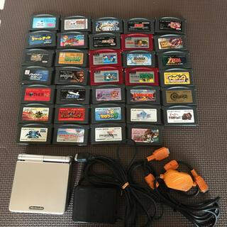 ゲームボーイアドバンス(ゲームボーイアドバンス)のゲームボーイアドバンスSP ソフト大量34本(携帯用ゲーム機本体)