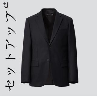 ユニクロ(UNIQLO)の【セットアップ】+J ウールテーラードジャケット& ウールスリムフィットパンツ(セットアップ)