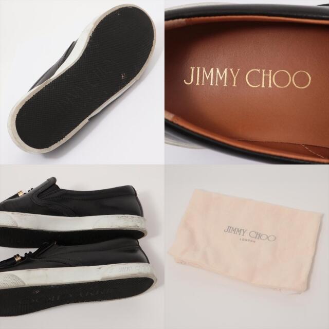 JIMMY CHOO(ジミーチュウ)のジミーチュウ  レザー 36 ブラック レディース その他靴 レディースの靴/シューズ(その他)の商品写真