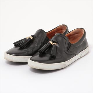 ジミーチュウ  レザー 36 ブラック レディース その他靴