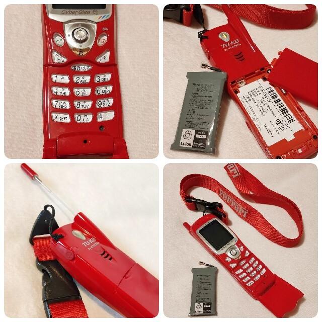 京セラ(キョウセラ)のTU-KA TK-03 フェラーリ公認モデル 携帯電話 スマホ/家電/カメラのスマートフォン/携帯電話(携帯電話本体)の商品写真