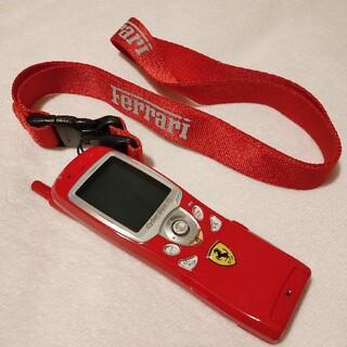 キョウセラ(京セラ)のTU-KA TK-03 フェラーリ公認モデル 携帯電話(携帯電話本体)