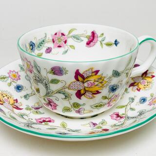 ミントン(MINTON)の未使用 ミントン Minton ハドンホール グリーン ティーカップ&ソーサー(食器)