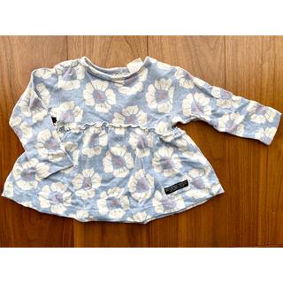 ブリーズ(BREEZE)の美品80cm★BREEZE 花柄ロンT(Tシャツ)