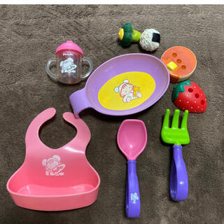 PILOT - ぽぽちゃん お世話 セット 知育玩具 女の子 おもちゃ 食事