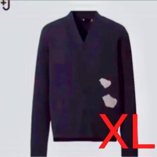 ジルサンダー(Jil Sander)の新品未使用品 J+ ジルサンダー×UNIQLO カーディガン XL(カーディガン)