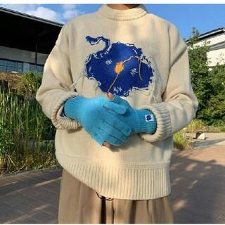 メゾンキツネ(MAISON KITSUNE')の新品 ADER ERROR  オーバーサイズ セーター(ニット/セーター)