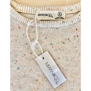 コドモビームス(こども ビームス)のmiannandco miann&co ネップ 半袖ニット 12-18m(シャツ/カットソー)