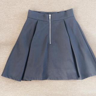 エモダ(EMODA)の♡EMODA バックジッパースカート ブラック♡(ミニスカート)