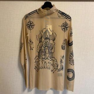 バレンシアガ(Balenciaga)のvetements タトゥートップ (Tシャツ/カットソー(半袖/袖なし))
