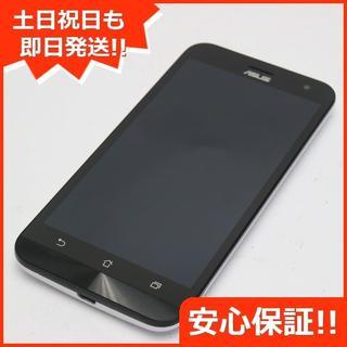 エイスース(ASUS)の超美品 SIMフリー ZenFone2 Laser ZE500KL ホワイト (スマートフォン本体)
