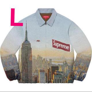 シュプリーム(Supreme)のAerial Tapestry Harrington Jacket Lサイズ(ブルゾン)