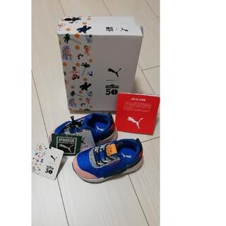 プーマ(PUMA)の【新品未使用】プーマ×セサミ コラボ スニーカー ベビーシューズ  1(スニーカー)