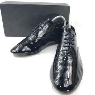 レペット(repetto)の【美品】Repetto レースアップ シューズ エナメル 約24.5cm(ローファー/革靴)