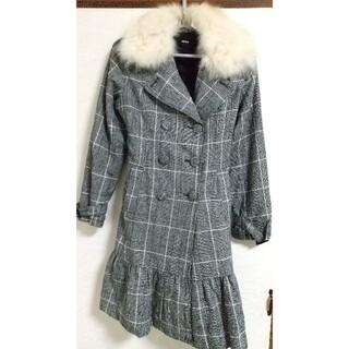 チュー(CHU XXX)のファー付きコート 美品(毛皮/ファーコート)