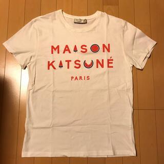 MAISON KITSUNE' - 限定品 maison kitsune Tシャツ