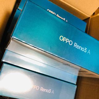 アンドロイド(ANDROID)のzero様専用OPPO Reno3A  ホワイト 2台セット(スマートフォン本体)