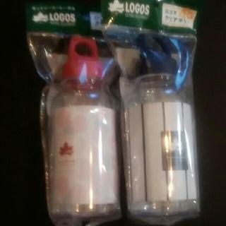 ロゴス(LOGOS)のクリアボトル2個(弁当用品)