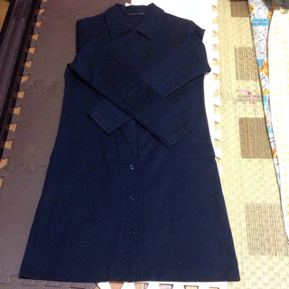 ドゥファミリー(DO!FAMILY)の紺ワンピ mayuna0710様専用(ひざ丈ワンピース)