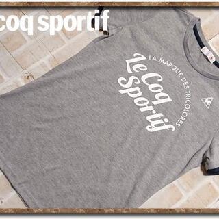 ルコックスポルティフ(le coq sportif)のルコック プリント半袖Tシャツ グレー(Tシャツ(半袖/袖なし))