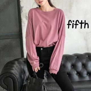 フィフス(fifth)の新品 fifth ビッグシルエットTシャツ(Tシャツ(長袖/七分))