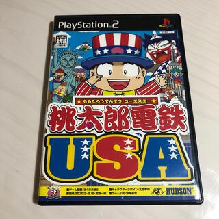 ハドソン(HUDSON)の桃太郎電鉄USA PS2(家庭用ゲームソフト)