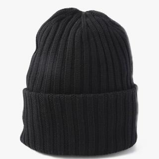 ロンハーマン(Ron Herman)のロンハーマンニットキャップブラック(ニット帽/ビーニー)