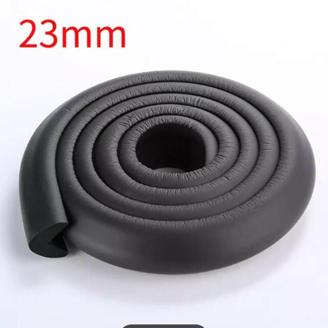 コーナーガード ベビーガード 安全クッション ブラック キッズ/ベビー/マタニティの寝具/家具(コーナーガード)の商品写真